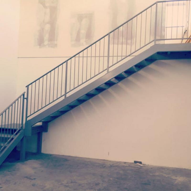 Escalier en fer pour extérieur